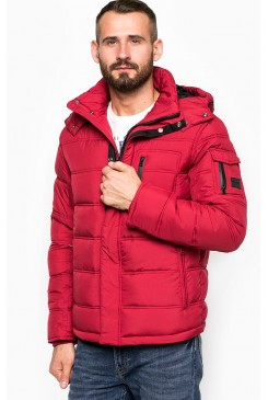 Pánska bunda WRANGLER / The Protector Red W4625WN47