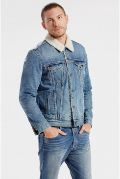 Pánska bunda Levi´s® / The Sherpa Trucker Jacket BUCKMAN 163650029