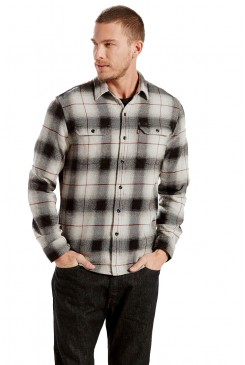 Pánska košeľa LEVI´S® JACKSON WORKER SHIRT LUNAR ROCK PLAID 195730038