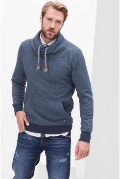 Pánska mikina s.OLIVER / Sweatshirt with a shawl collar  13.610.41.3331 58W0