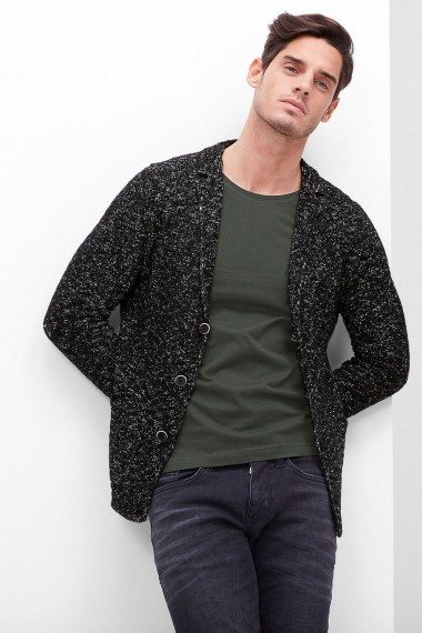 Pánsky sveter s.OLIVER / Cardigan with a textured pattern 13.610.64.8856 98W0