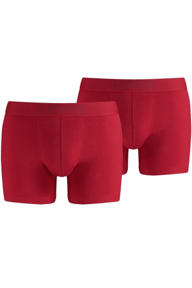 Pánske boxerky LEVI´S® 200 SERIES 2 PACK / 773160264 Red