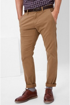 Pánske chino nohavice s.OLIVER /  Chino Slim: chinos with a belt 13.611.73.2531 8475