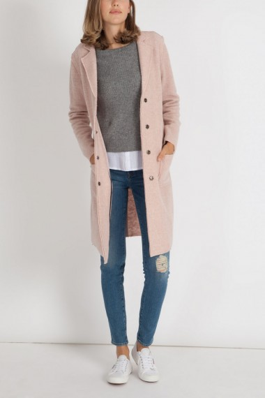 Dámsky cardigán  MAVI / LONG SLEEVE CARDIGAN rose dust 170674-2230