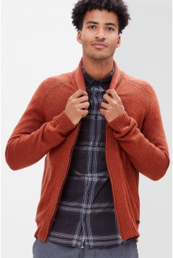 Pánsky sveter s.OLIVER / Cardigan with metal zip 13.610.64.6083 29W0