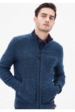 Pánsky sveter s.OLIVER / Cardigan with a mottled texture 13.611.64.2133 58WO