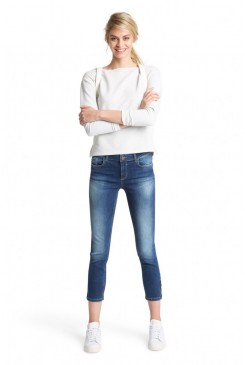 Dámske rifle HIS / Marylin Slim Jeans 101176-00-9383