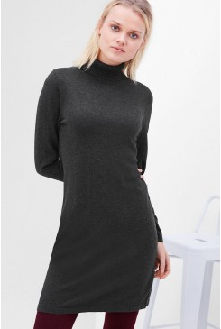 Dámske šaty s.OLIVER  / Knit dress with a polo neck  14.611.82.6297 9898