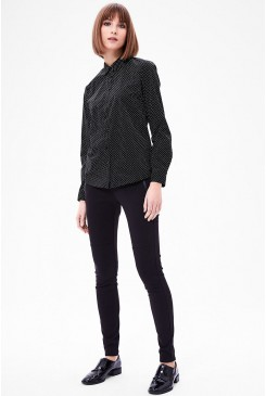Dámska blúzka s.OLIVER / Lightweight blouse with a printed pattern 14.612.11.3274 99A5
