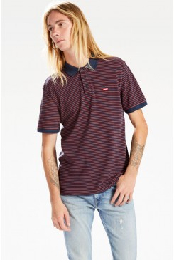Pánske polo Levi´s / HOUSEMARK DRESS Ochre Stripe 224010048
