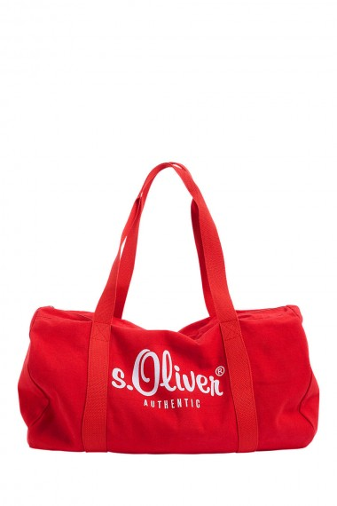 Taška s.OLIVER / Barrel bag with a printed logo  20.702.94.7995 3118
