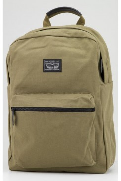Batoh LEVI´S / Canvas Zip Top Backpack 771700685 KHAKI