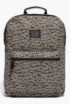 Batoh LEVI´S / Canvas Zip Top Backpack  771700702 Black floral