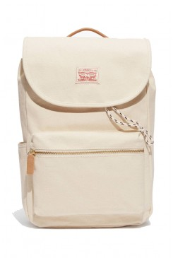 Batoh LEVI´S / Canvas Zip Top Backpack 771700703 Ecru
