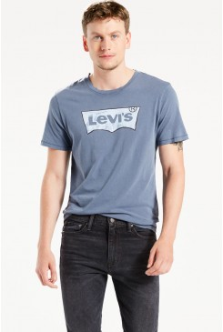 Pánske tričko LEVI´S / HOUSEMARK GRAPHIC TEE 224890033 Drawn Dress Blues