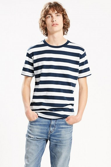 LEVI´S / MIGHTY MADE TEE BLUES STRIPE 360180006