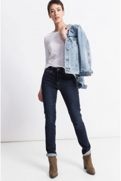 Dámske rifle HIS / MARYLIN Slim Jeans 101396-00-9732