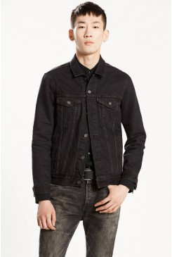 Riflová bunda Levi´s / TRUCKER JACKET 723340239 Midnight Carbon