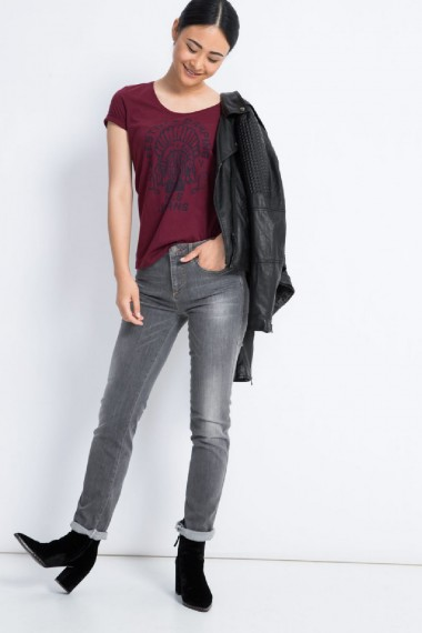Dámske rifle HIS / MARYLIN Slim Jeans 101420