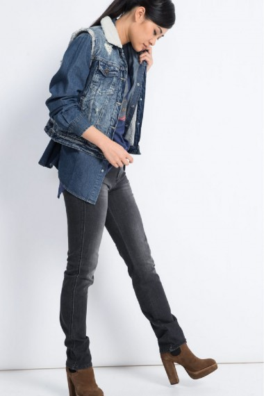 Dámske rifle HIS / MARYLIN Slim Jeans 101421