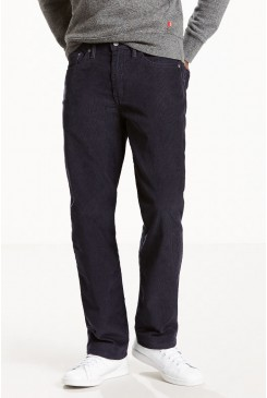 Pánske rifle Levi's® LEVI´S 514™ STRAIGHT FIT 00514-0909 CORDUROY PANTS navy