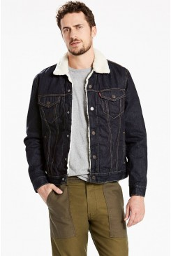 Pánska bunda Levi´s® / The Sherpa TYPE 3 Trucker Jacket 16365-0045 RAW POWER SHERPA