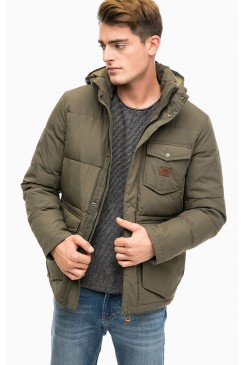 Pánska bunda LEE / PUFFER JACKET L89IASDA MILITARY GREEN
