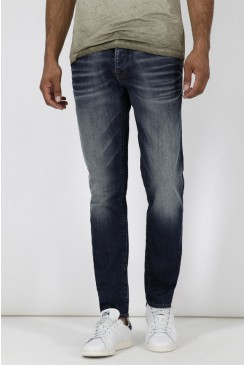 Pánske rifle MAVI / YVES Skinny dark brushed comfort  0024324782