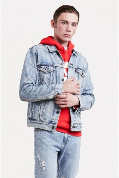 Riflová bunda Levi´s / TRUCKER JACKET 72334-0266 Rolled Up Dollar