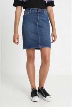 Dámska riflová sukňa LEE HIGH WAIST SKIRT L38QROPB TRUE BLUE