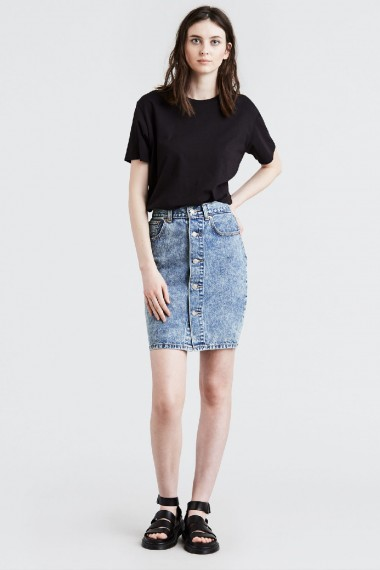Dámska sukňa Levi's® 57656-0000 Button Through Midi Skirt