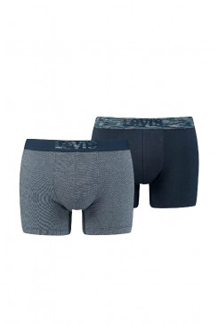 Pánske boxerky Levi's® 200SF Boxer Brief 2Pack / 37149-0046 DARK BLUE COMBO