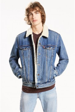 Pánska bunda Levi´s® / The Sherpa TYPE 3 Trucker Jacket 16365-0040 Needle Park