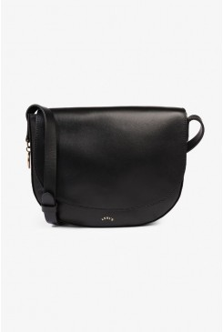 Dámska kabelka Levi's® Leather Zip Bag 38119-0004 Black