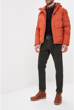 Pánska bunda Lee® PUFFER JACKET L86VMEKC Rust Orange