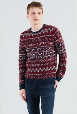 Pánsky pulóver LEVI´S® 56462-0001 Classic Holiday Sweater Sweaters