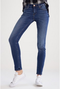 Dámske rifle Lee® SCARLETT Skinny L526HAOE Midtown Blues