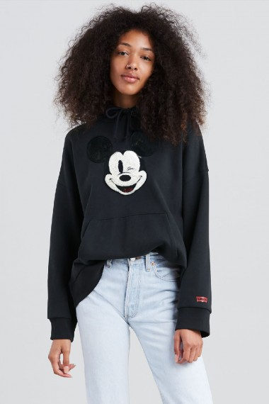 Dámska mikina Levi's®  X Mickey Mouse Graphic Oversized Hoodie 57597-0002