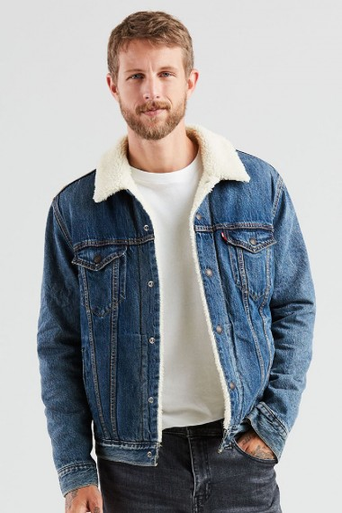 Pánska bunda LEVI´S® The Sherpa Trucker Jacket 16365-0089