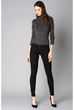 Dámske rifle LEVI´S® 711 Skinny 18881-0052 BLACK SHEEP