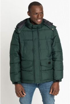 Pánska bunda Lee® Puffer Jacket L87XUMBB Bottle Green