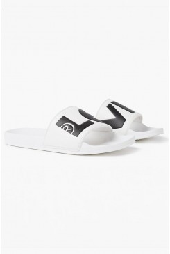 Pánske šľapky LEVI´S® June Sliders 37544-0056 Regular White