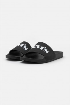 Pánske šľapky LEVI´S® June Sliders 37544-0132 Regular Black