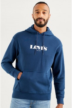 Pánska mikina LEVI´S® Relaxed Graphic Hoodie 38479-0026