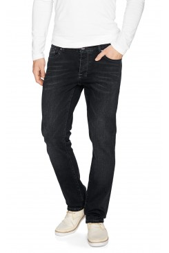 HIS Jeans Pánske rifle 143-10-5163  PITT BLUEISH BLACK