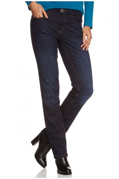Dámske  rifle HIS Jeans 100142W142  MADISON COZY DARK BLUE