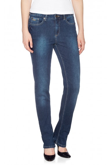 Dámske rifle HIS Jeans / Marylin Soft deep blue 100500