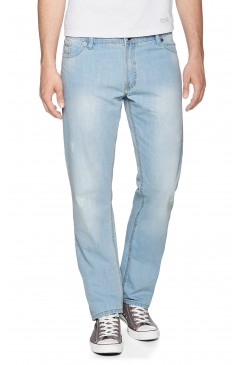 Pánske rifle HIS Jeans / Stanton -Faded wash 100536