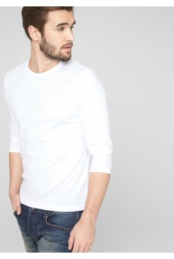 Pánske tričko s.OLIVER / Slim fit long sleeve top 03.899.31.2436 0100