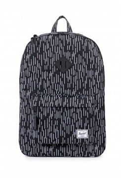 HERSCHEL Supply batoh /  HERITAGE BLACK/WHITE RAIN CAMO RUBBER10007-00864-OS